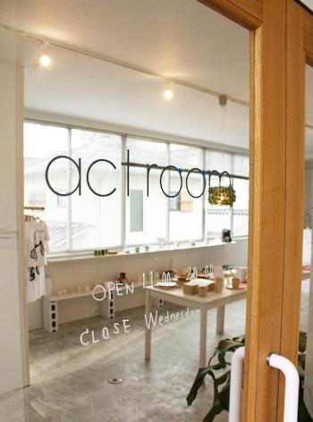actroom(山口県周南市)にて「wipe T shirt」などの販売開始 | 取扱店