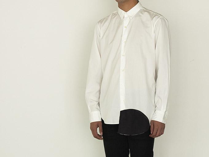 wipe shirt [shirttail]